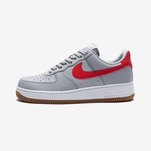 AIR FORCE 1 - WOLFGREY/UNIVERSITYRED/WHITE Image 2