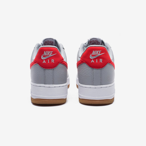 AIR FORCE 1 - WOLFGREY/UNIVERSITYRED/WHITE Image 3