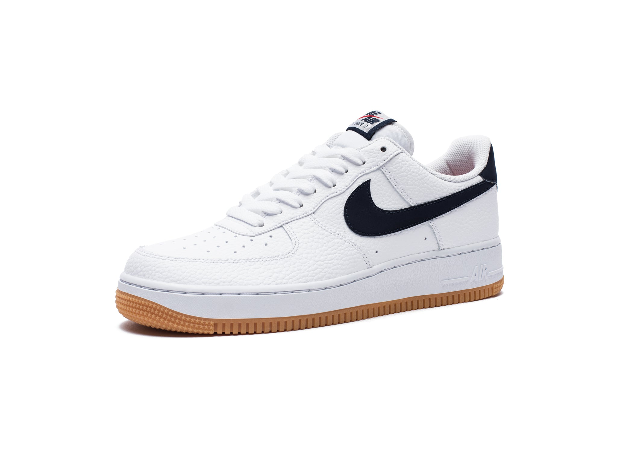 AIR FORCE 1 - WHITE/OBSIDIAN/UNIVERSITYRED