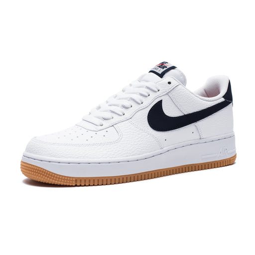 AIR FORCE 1 - WHITE/OBSIDIAN/UNIVERSITYRED Image 1