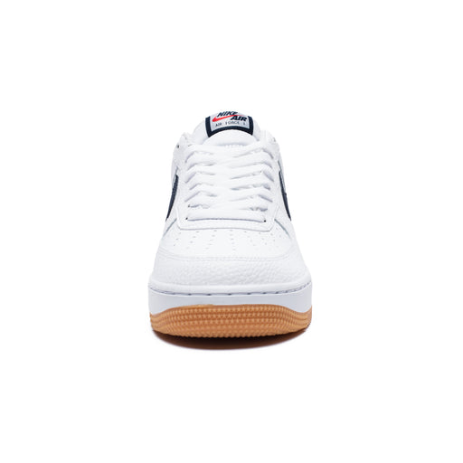 AIR FORCE 1 - WHITE/OBSIDIAN/UNIVERSITYRED Image 2