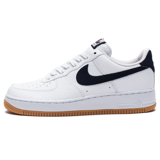 AIR FORCE 1 - WHITE/OBSIDIAN/UNIVERSITYRED Image 4