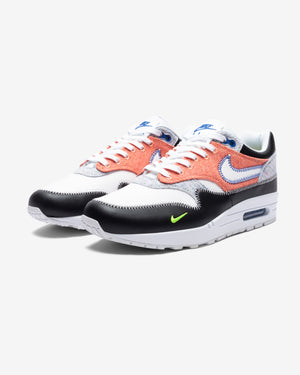 AIR MAX 1 - WHITE/ GAMEROYAL/ BLACK/ ELECTRICGREEN