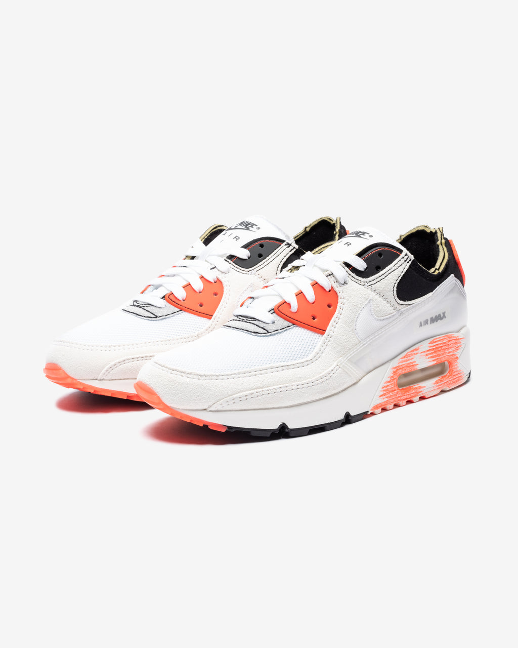 AIR MAX 90 PREMIUM - WHITE/ BLACK/ BRIGHTCRIMSON