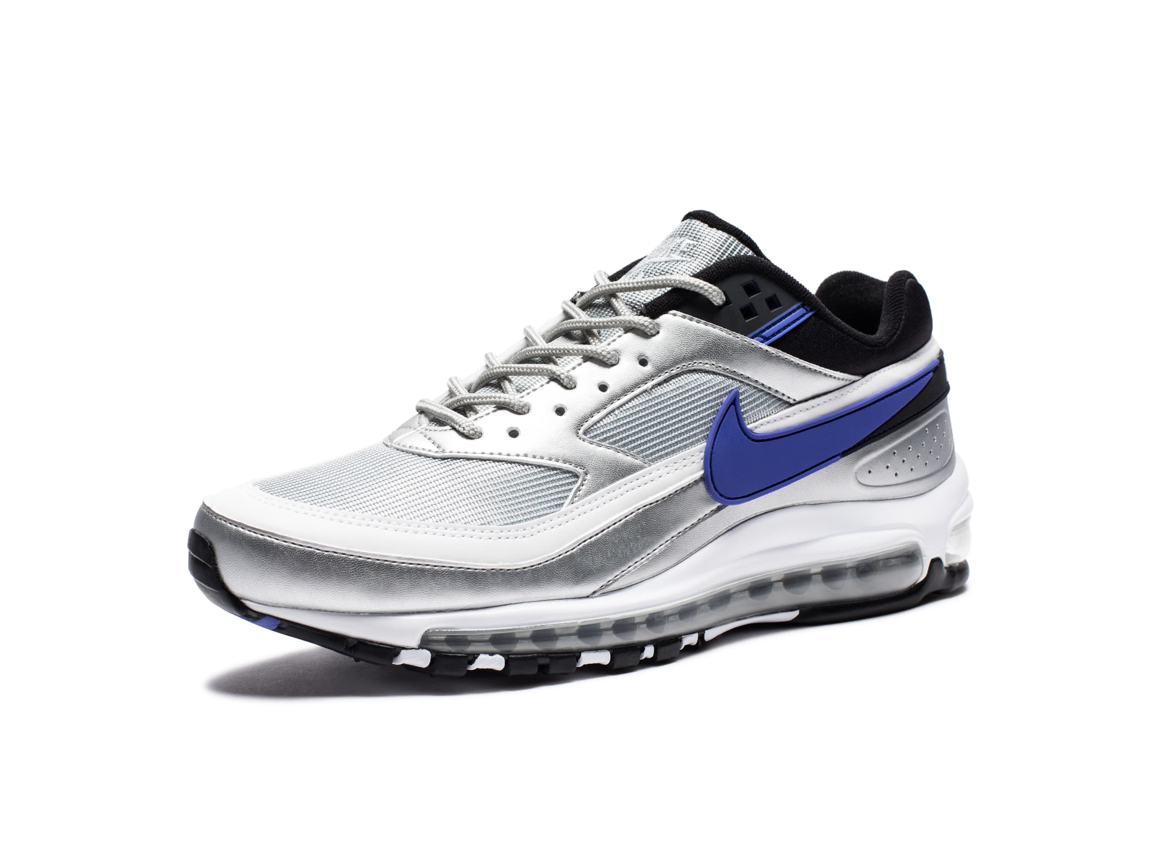 cheap for discount 382b1 5de2e AIR MAX 97 BW - METALLICSILVER PERSIANVIOLET BLACK