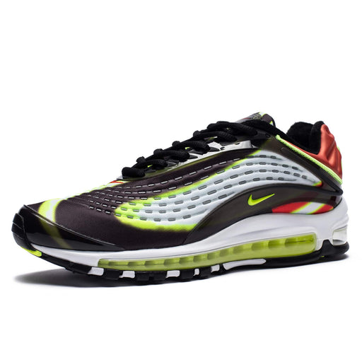 NIKE AIR MAX DELUXE - BLACK/VOLT/HABANERORED/WHITE