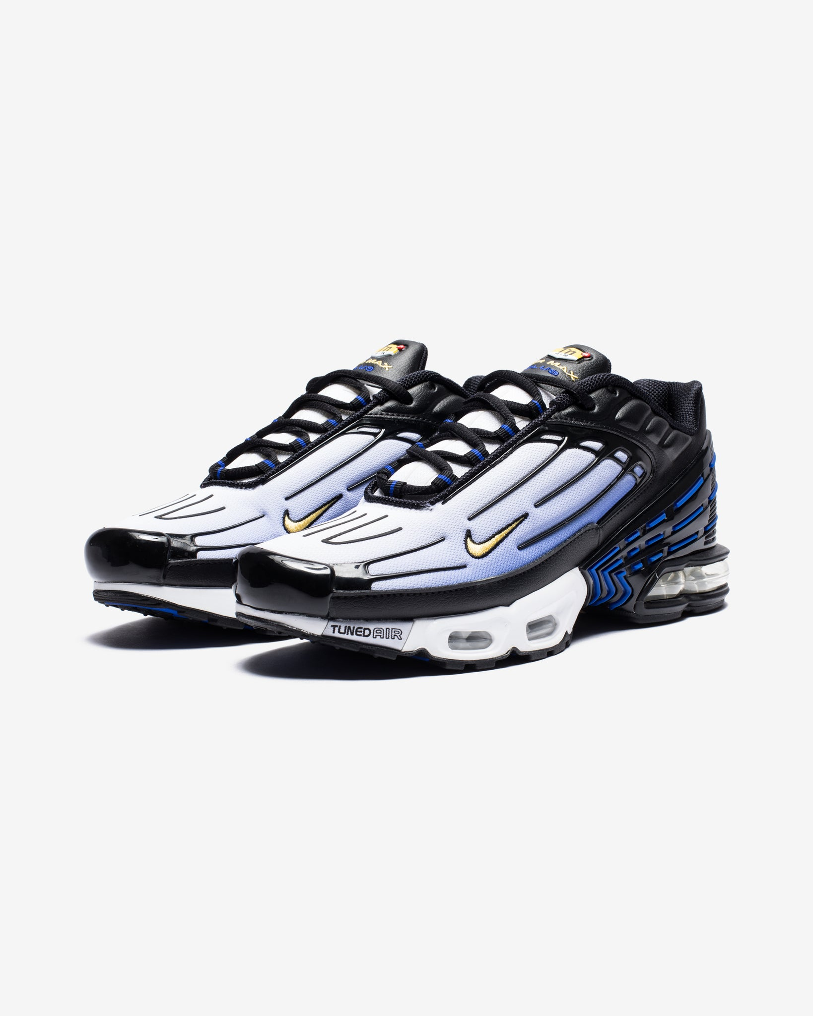 AIR MAX PLUS III - BLACK/CHAMOIS/HYPERBLUE/WHITE
