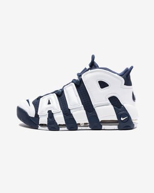 AIR MORE UPTEMPO - WHITE/ MIDNIGHTNAVY/ METALLICGOLD