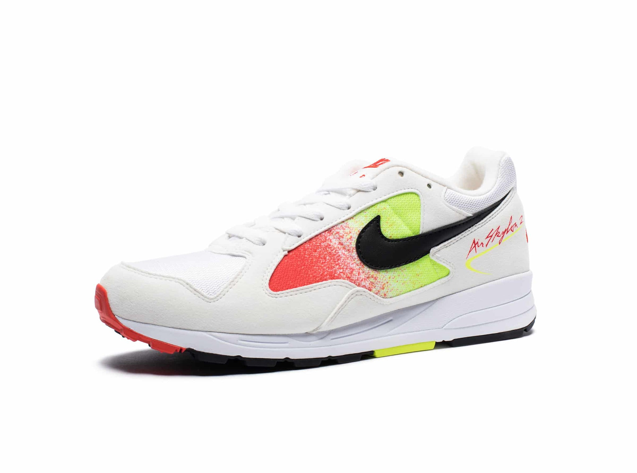 AIR SKYLON II - WHITE/BLACK/VOLT/HABANERORED