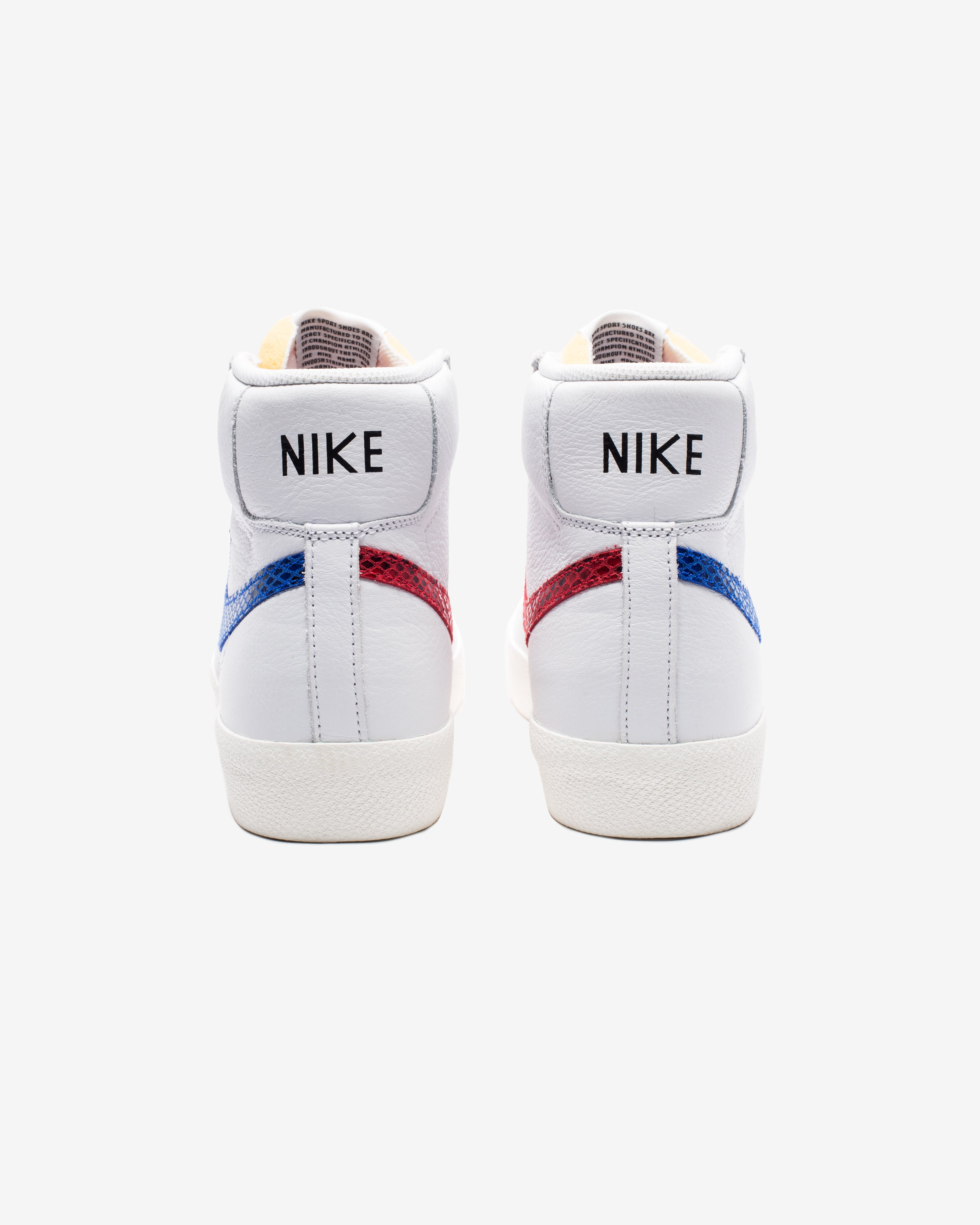 BLAZER MID '77 VINTAGE - WHITE/ RACERBLUE/ UNIVERSITYRED/ SAIL