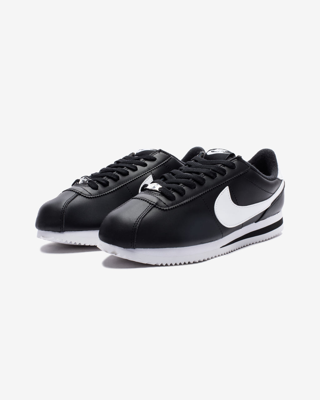 CORTEZ BASIC - BLACK/ WHITE/ METALLICSILVER