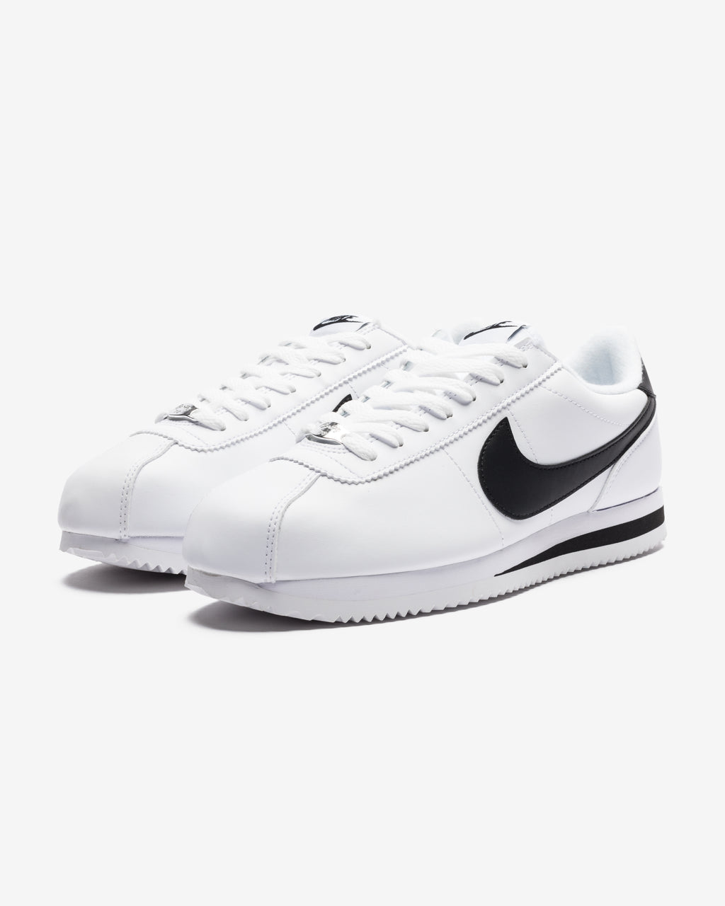 CORTEZ BASIC - WHITE/ BLACK/ METALLICSILVER