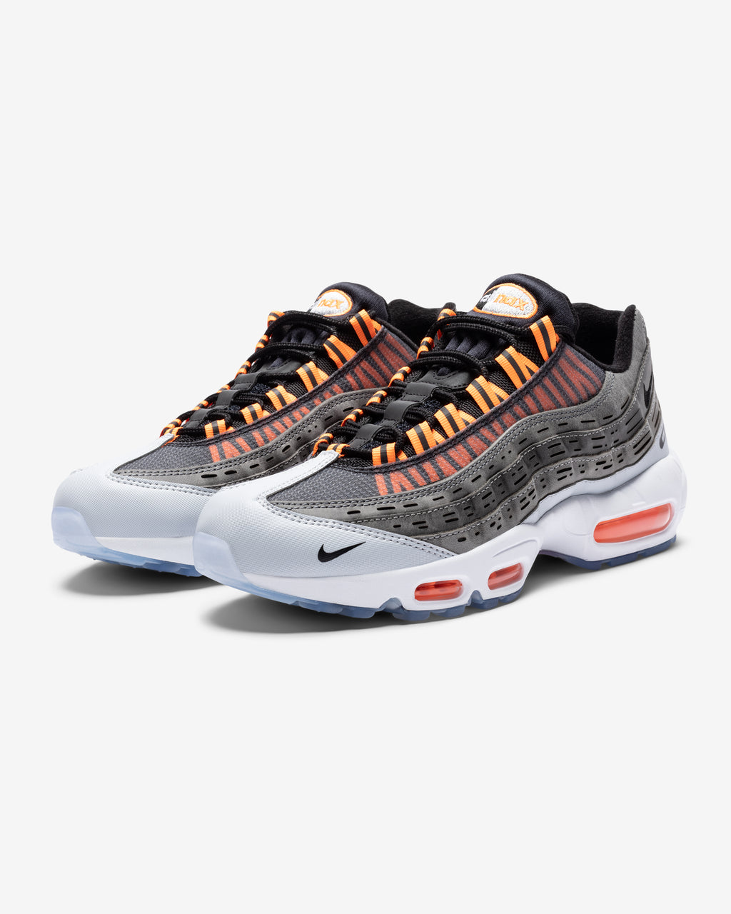 NIKE X KIM JONES AIR MAX 95 - BLACK/ TOTALORANGE/ DARKGREY