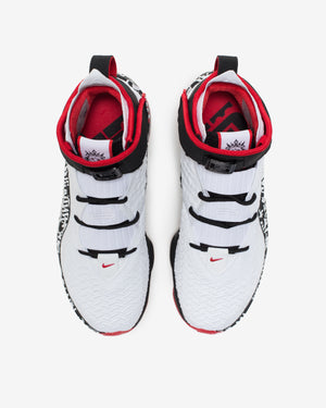 LEBRON XVII - WHITE/ UNIVERSITYRED/ BLACK