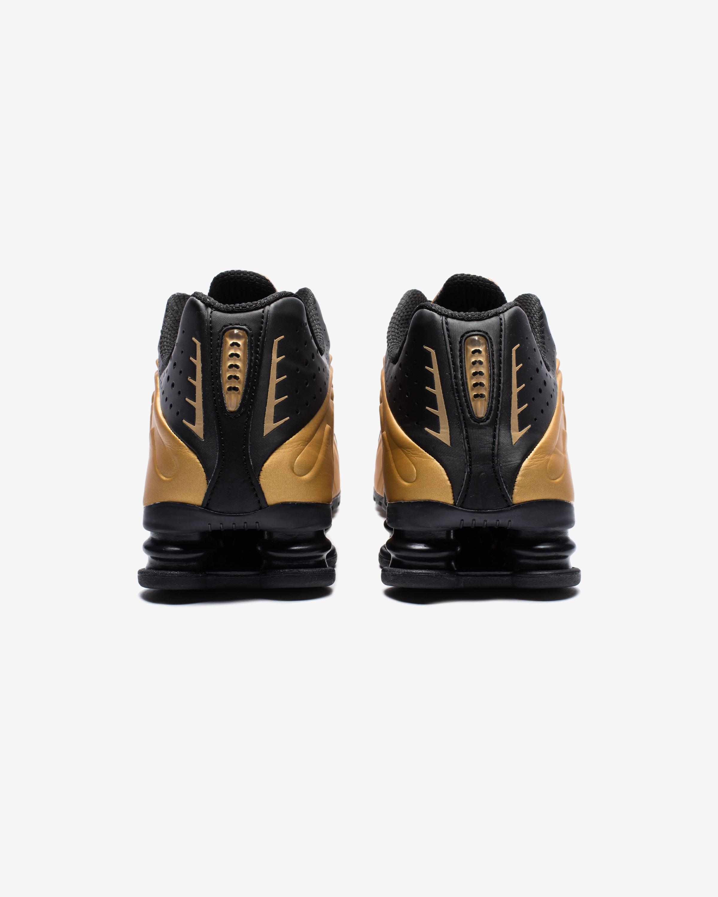 SHOX R4 - METALLICGOLD/ BLACK