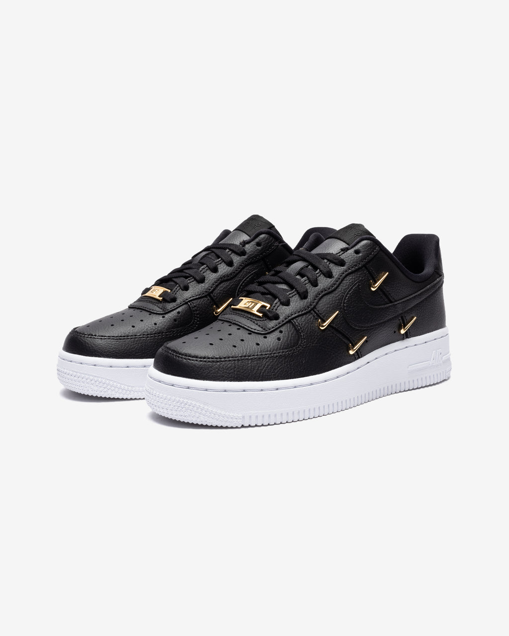 WOMEN'S AIR FORCE 1 '07 LX - BLACK/ METALLICGOLD/ HYPERROYAL