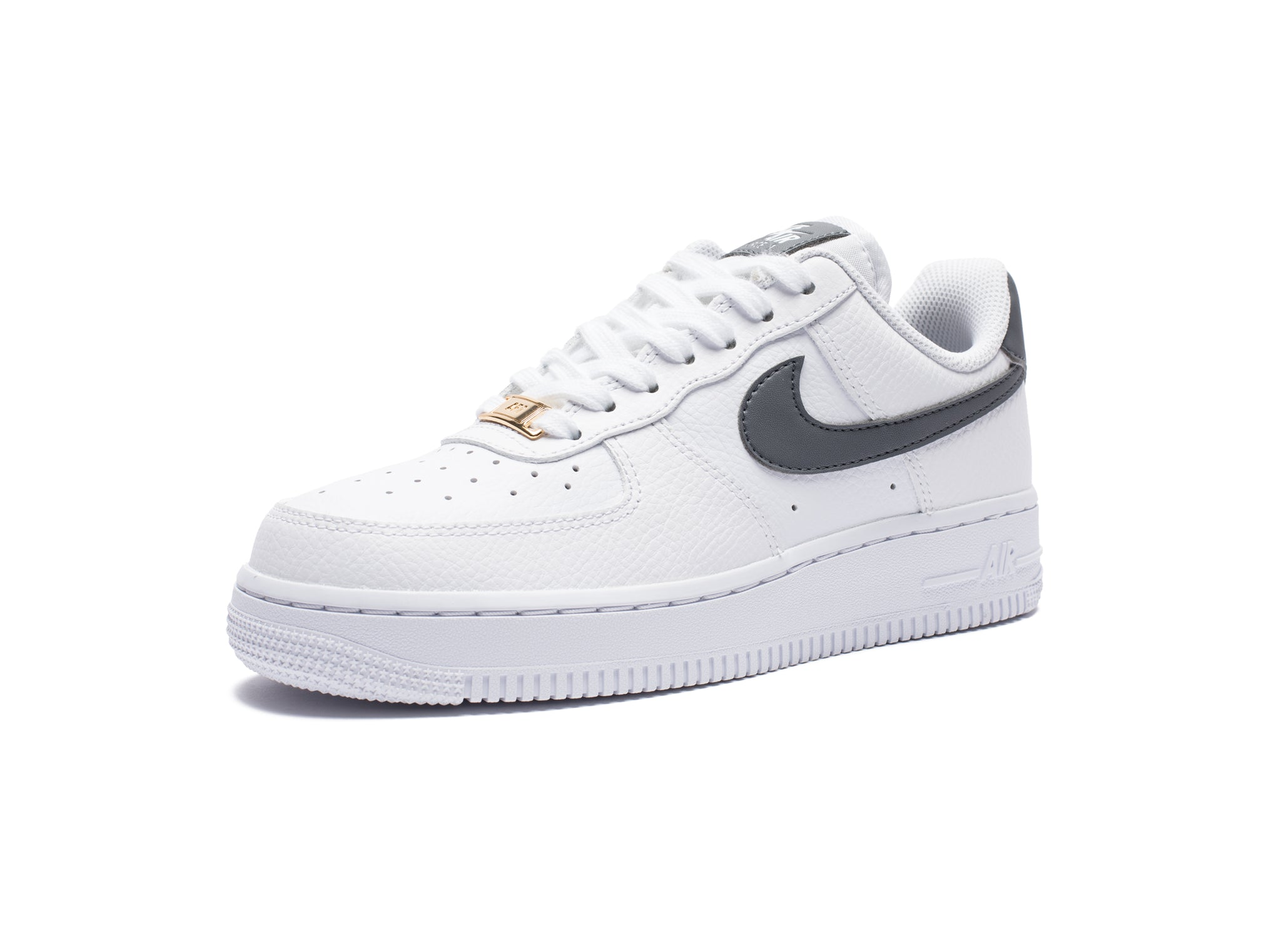 WOMEN'S AIR FORCE 1 '07 - WHITE/COOLGREY/METALLICGOLD