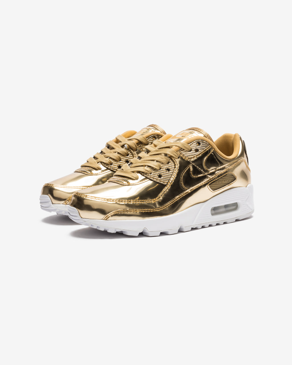 WOMEN'S AIR MAX 90 SP - METALLICGOLD/ CLUBGOLD
