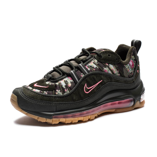 WOMEN'S AIR MAX 98 CAMO - SEQUOIA/METALLICBLACK/SUNSETPULSE