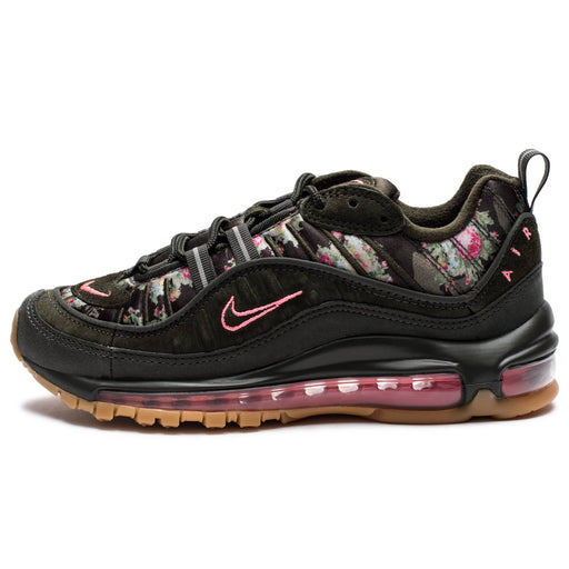 WOMEN'S AIR MAX 98 CAMO - SEQUOIA/METALLICBLACK/SUNSETPULSE Image 4