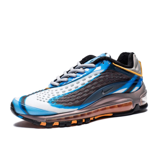 WOMEN'S AIR MAX DELUXE - PHOTOBLUE/WOLFGREY/ORANGEPEEL/BLACK