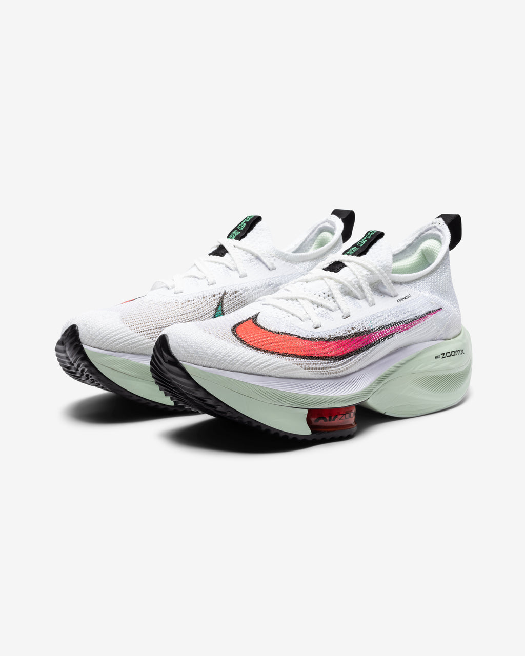 WOMEN'S AIR ZOOM ALPHAFLY NEXT% - WHITE/ FLASHCRIMSON/ JADEAURA