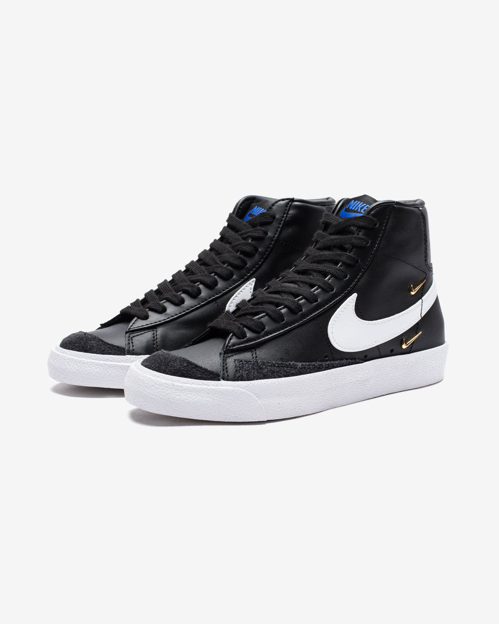 WOMEN'S BLAZER MID '77 SE - BLACK/ WHITE/ HYPERROYAL