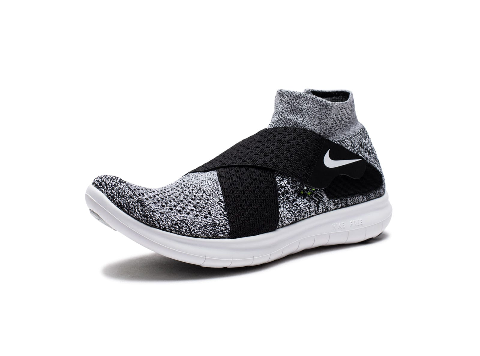 100% authentic 07019 20bde WOMEN'S FREE RN MOTION FLYKNIT 2017 - BK/WH/PUREPLATINUM ...