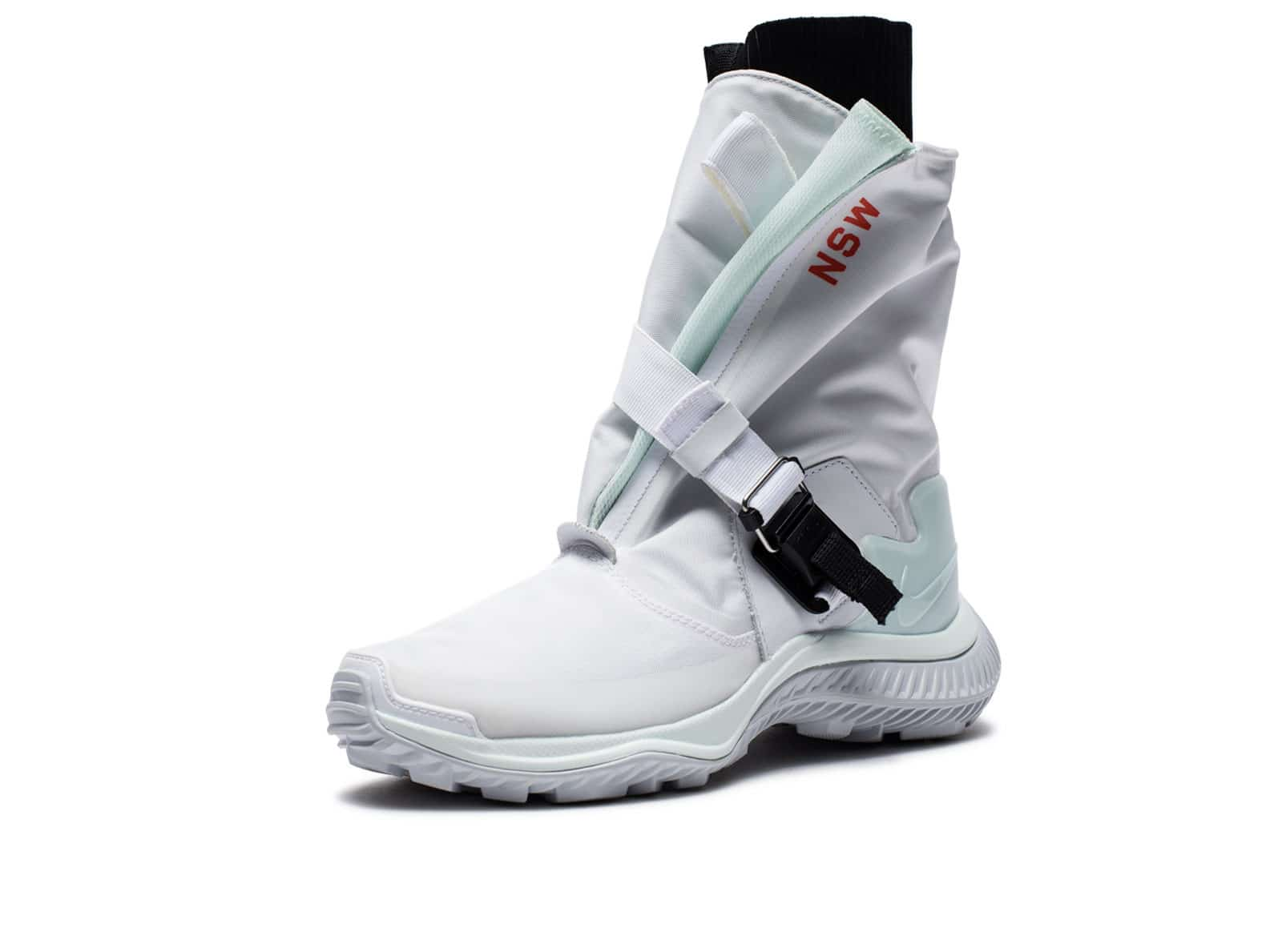 new product 4179c 56d74 WOMENS GAITER BOOT - WHITEBARELYGREENBLACKPUREPLATINUM