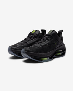 WOMEN'S ZOOM DOUBLE STACKED - BLACK/ VOLT/ BLACK