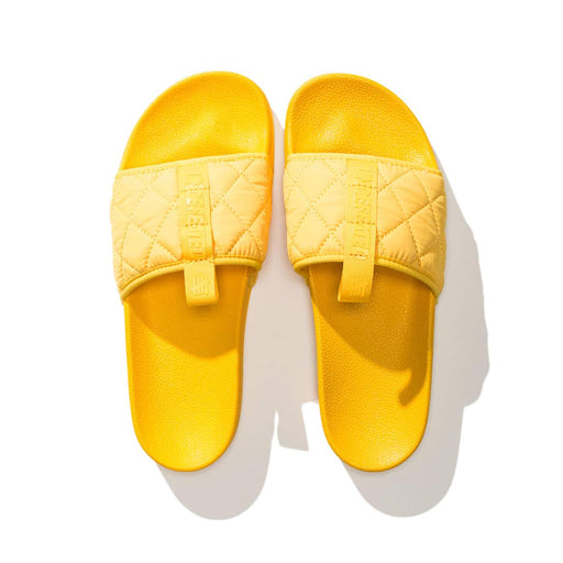 UNDEFEATED QUILTED SLIDE - YELLOW Image 1