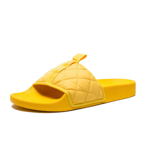 UNDEFEATED QUILTED SLIDE - YELLOW Image 2