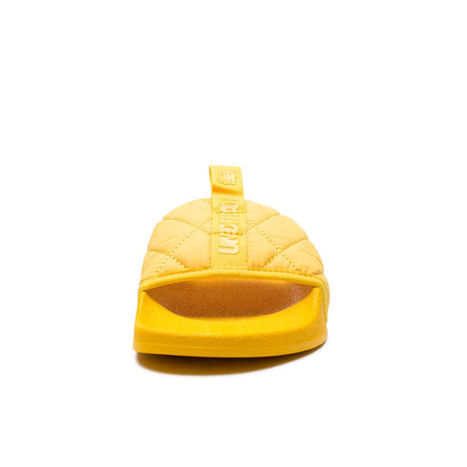 UNDEFEATED QUILTED SLIDE - YELLOW Image 3