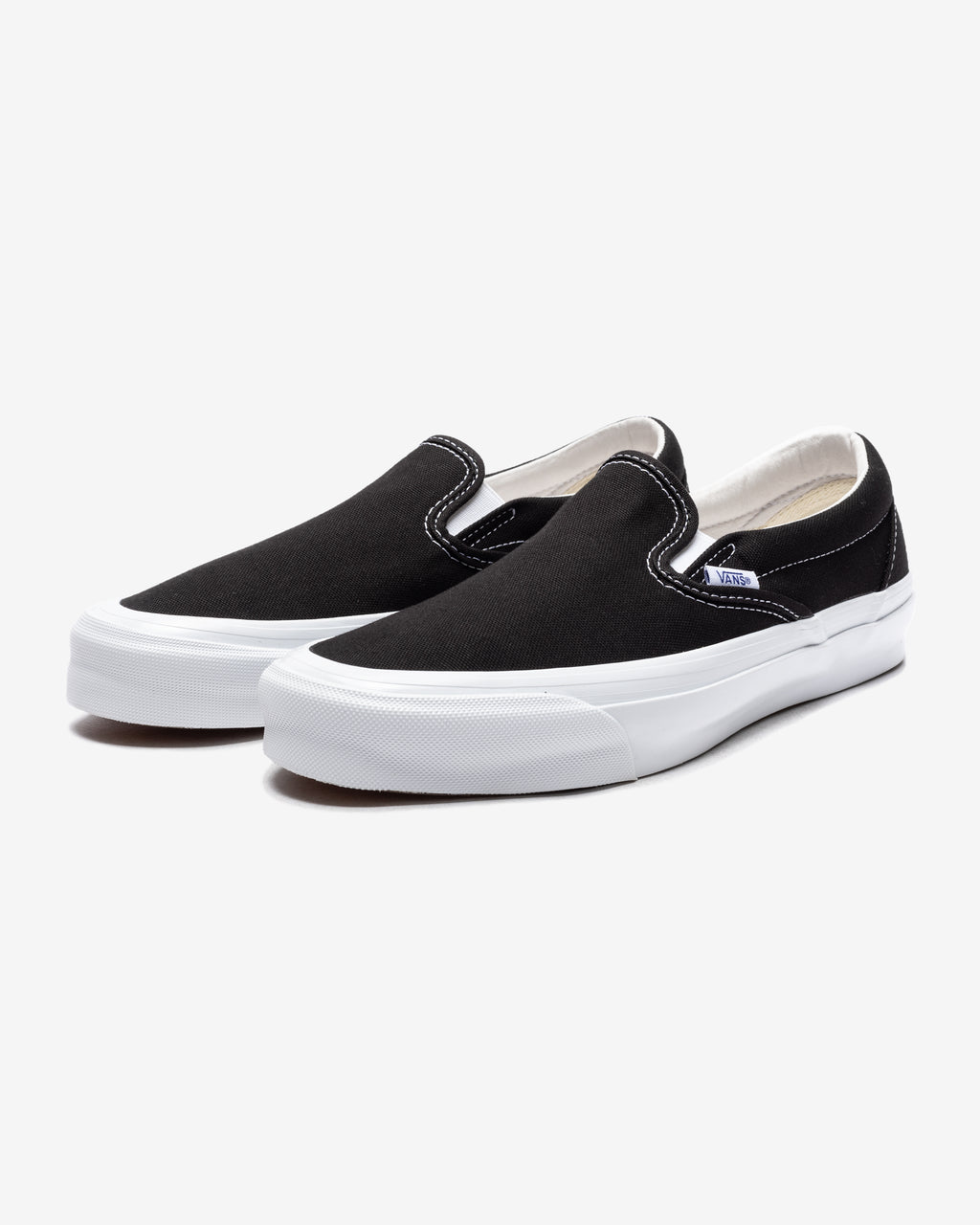 OG CLASSIC SLIP-ON (CANVAS) - BLACK/ TRUEWHITE