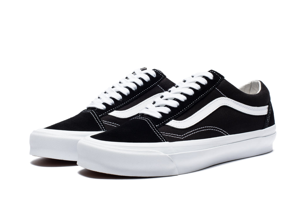 OG OLD SKOOL LX (SUEDE/CANVAS) - BLACK/ TRWHT