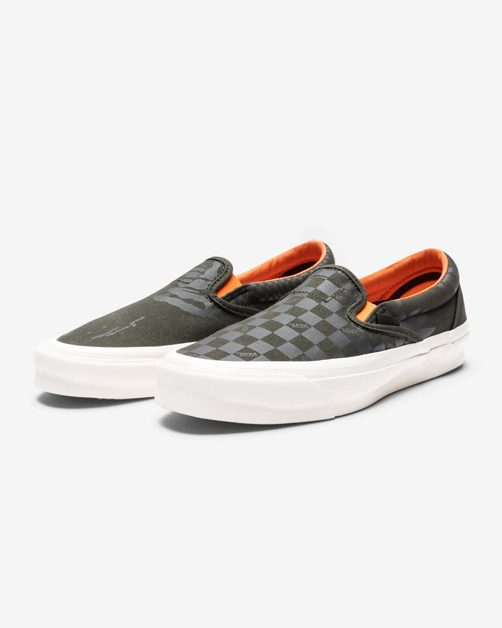 VANS X PORTER OG CLASSIC SLIP-ON - FORESTNIGHT/ BLACKINK