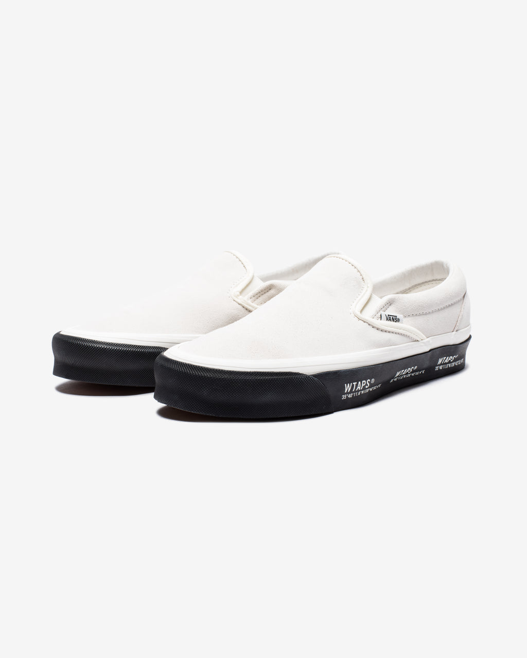 VANS X WTAPS OG CLASSIC SLIP-ON LX - GPS/ WHITE/ BLACK