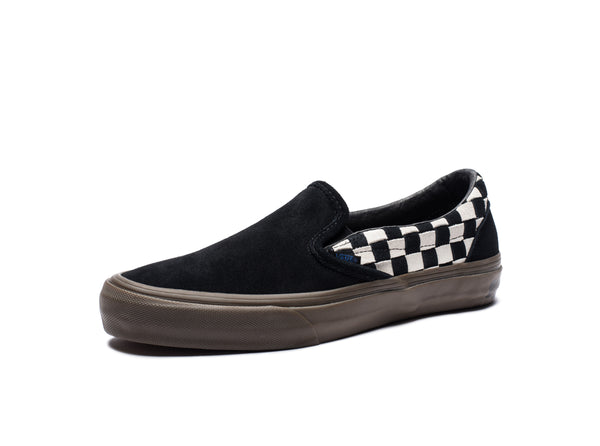 406f75622d VANS X TAKA HAYASHI SLIP-ON LX (WOVEN SUEDE) - CHECKERBOARD