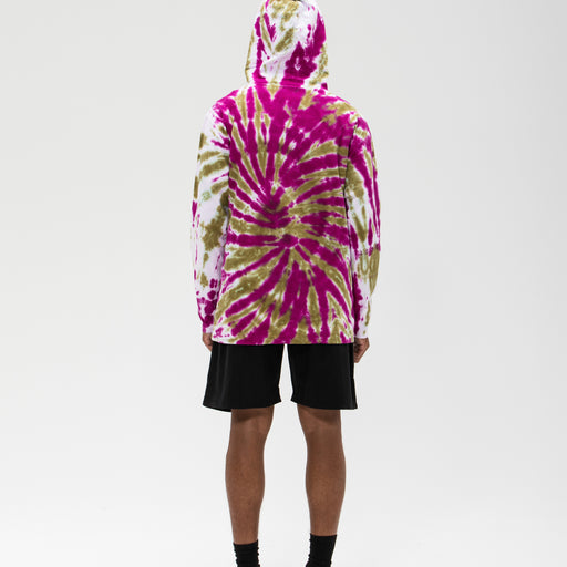 UNDEFEATED TIE DYED HOODED L/S TOP Image 16
