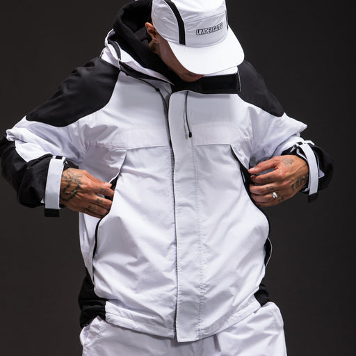 UNDEFEATED HOODED COLORBLOCK JACKET Image 11