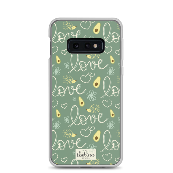Funda de móvil era Samsung Avocado Lovers de Ibelina Pirulina