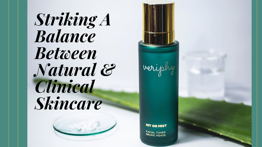 Striking A Balance Between Natural & Clinical Skincare | Terra Collective