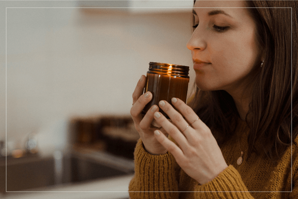 Agata-Golabek-Smelling-One-of-Her-Candles-Terra-Collective-Blog
