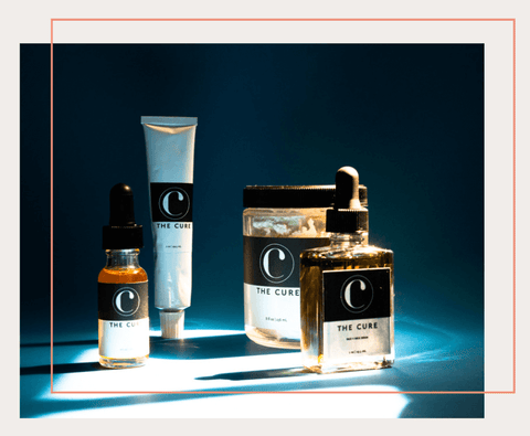 The-Cure-Apothecary-Product-Line-Range-Cuticle-Oil-Face + Neck Mask-Body Whip-Face + Neck Serum