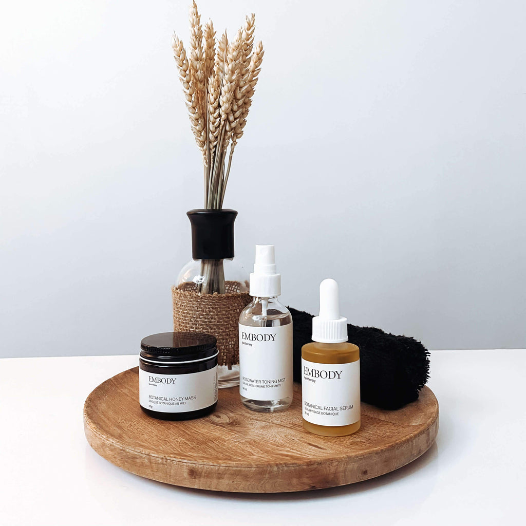Embody Apothecary Deluxe Facial Bundle Lifestyle Terra Collective