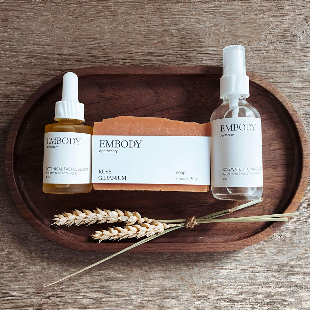 Embody Apothecary Rose Bundle Lifestyle Terra Collective