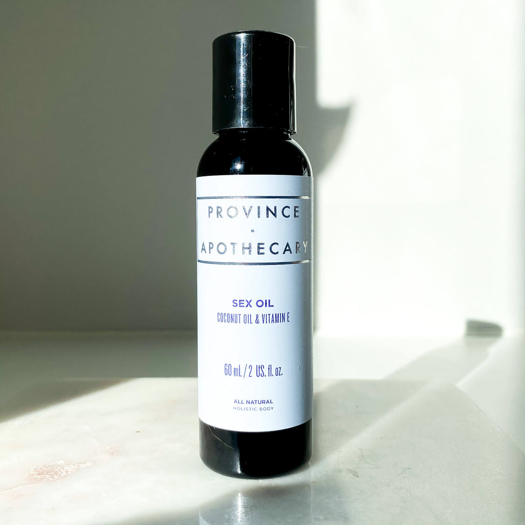 Terra Collective Sex Oil Province Apothecary Bottle Lifestyle