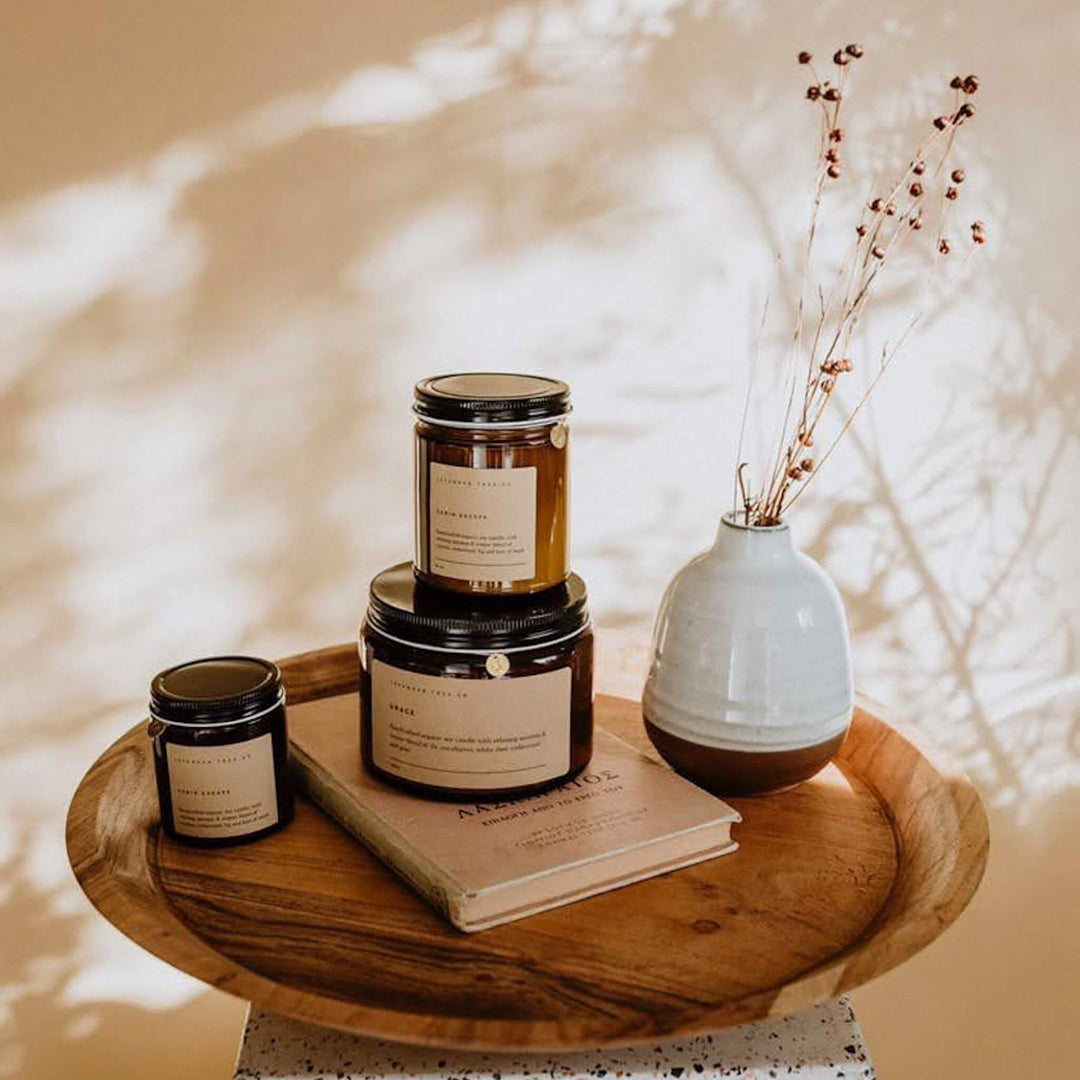Lavender Tree Co Terra Collective Build Your Own Soy Wax Candle Bundle