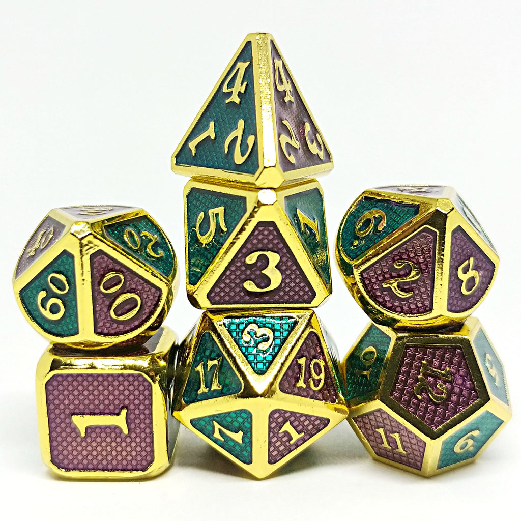 Element Binders Polyhedral Dice Set - Arcana Vault