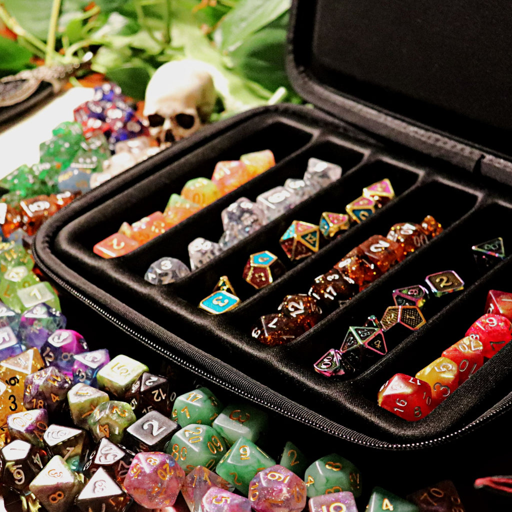 Diceology Archive - 6 Set Dice Case & Tray - Arcana Vault